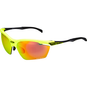 Rudy Project Agon Glasses Yellow Fluo Gloss/Multilaser Orange